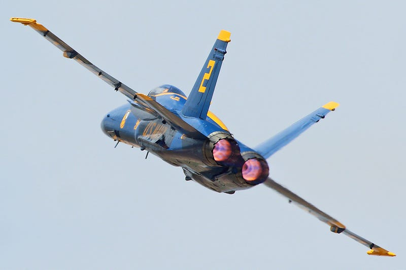 The Triumphant Return Of The Blue Angels!