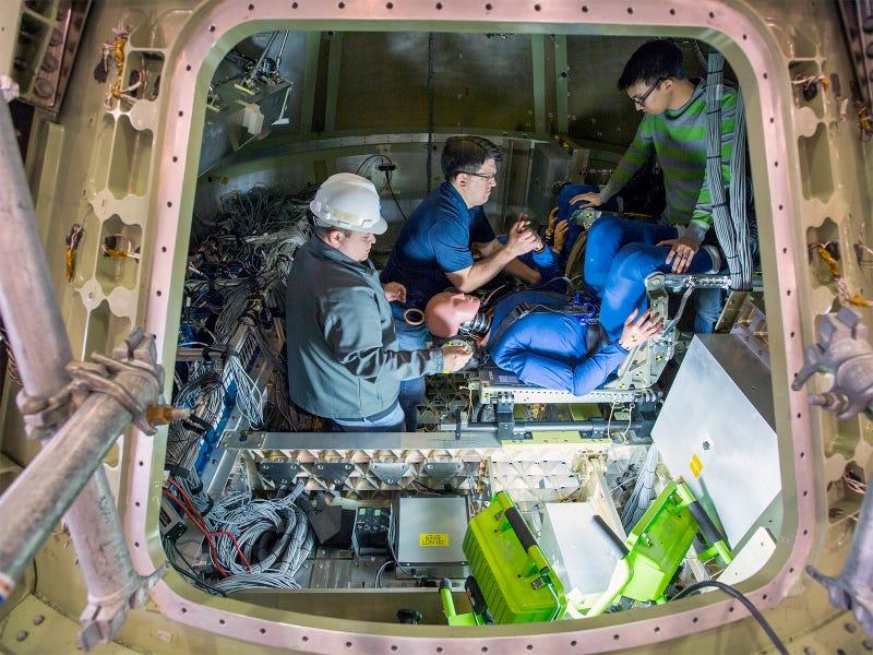 NASA's New Test Pilots Look Like Total Dummies