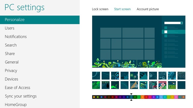 Use Windows 8's Start Screen and Lock Screen Images as Wallpaper