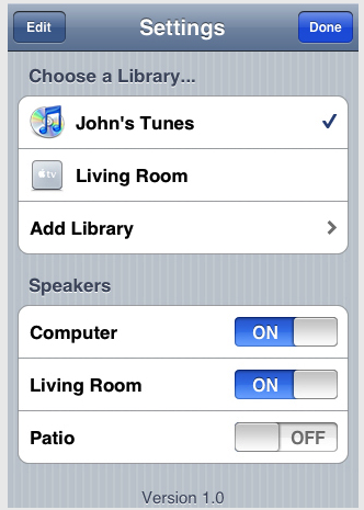 Apple Remote iPhone App Controls Your iTunes Over Wi-Fi