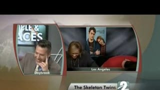 Kristen Wiig and Bill Hader Mock Newscaster Who Didn't See Their Film