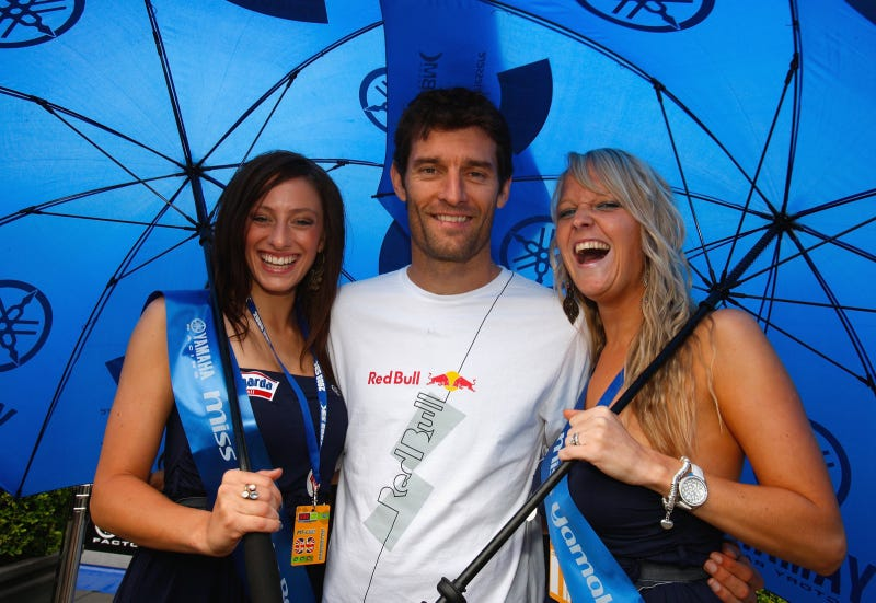 Mark Webber On His Day Off