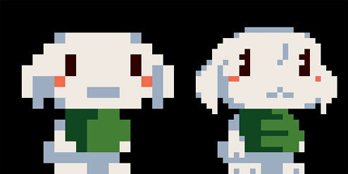 Cave Story Graphics Comparison, PC v Wii