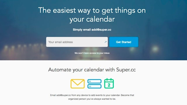 Super.cc Is Like TripIt for Google Calendar, Adds Any Event You Email