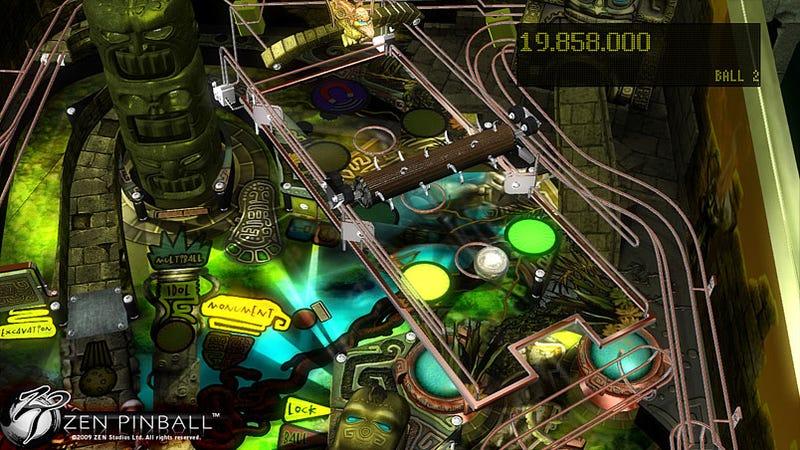 Zen Pinball Launches Next Week On PSN