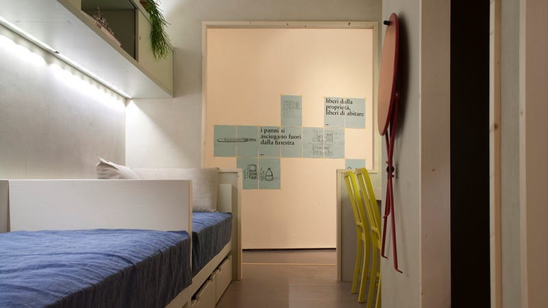 A Prison Cell-Sized Room Designed by the Inmates Who Live in Them