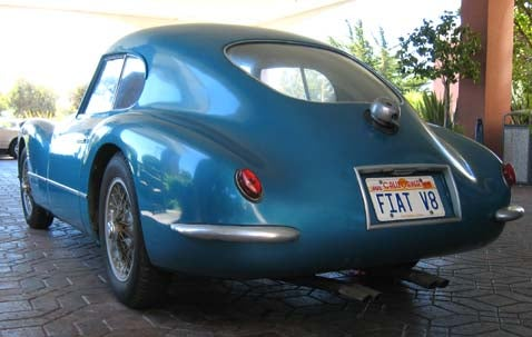 What Was That Mystery Car? 1954 Fiat 8V