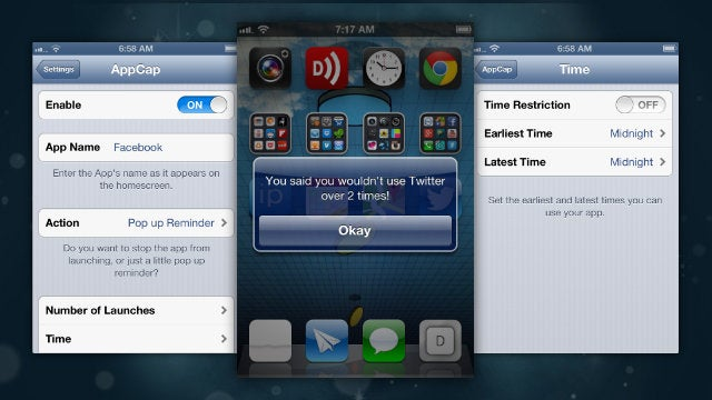 AppCap Sets Limits On Opening iPhone Apps to Give Your Willpower a Break