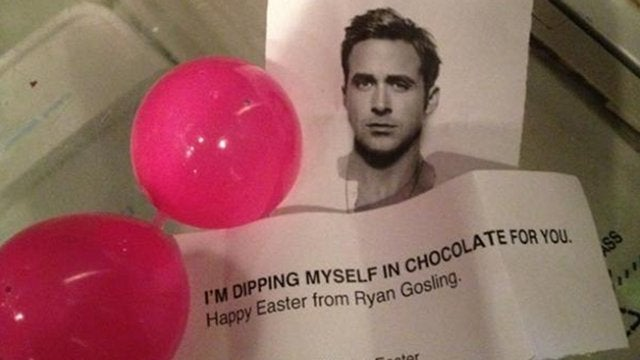 Happy Easter From Ryan Gosling
