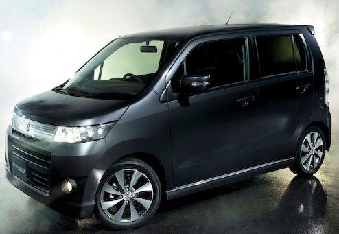 Suzuki Upgrades Wagon R With Stingray For JDM