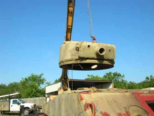 How to Restore a Sherman Tank - A Pictorial