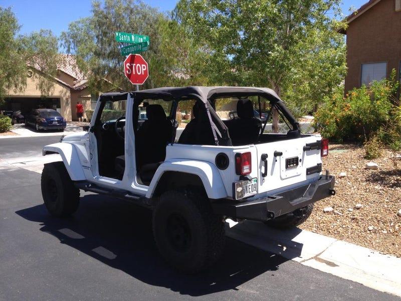 Weekend Jeep Update