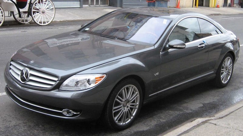 "Nothing Says ""F*** You"" Like A Mercedes-Benz CL600"