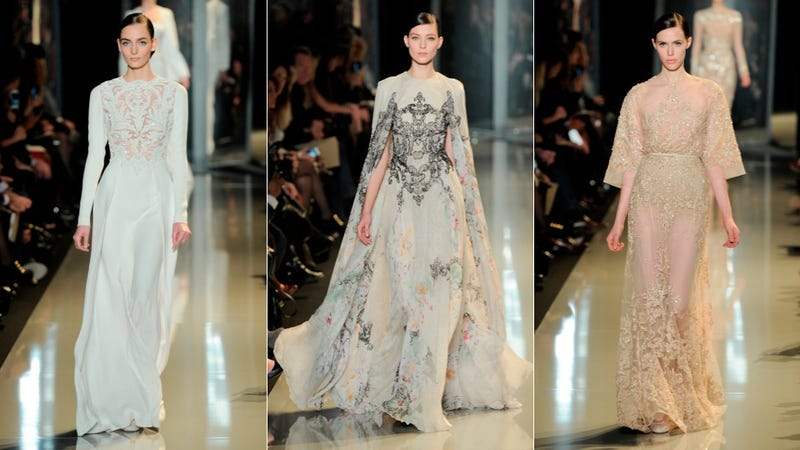 Elie Saab Haute Couture, for the Princess-Turned-Oscar-Winning-Starlet in You