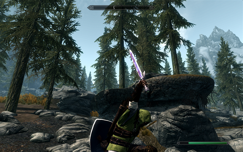 How to Play as Link, In Skyrim