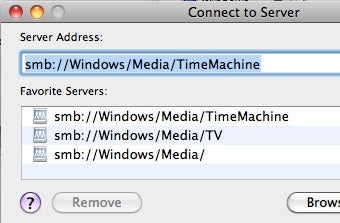 How to Set Up Time Machine to Back Up to a Networked Windows Computer