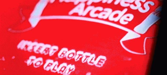 Coke's Arcade Machine Accepts Plastic Bottles Instead of Quarters