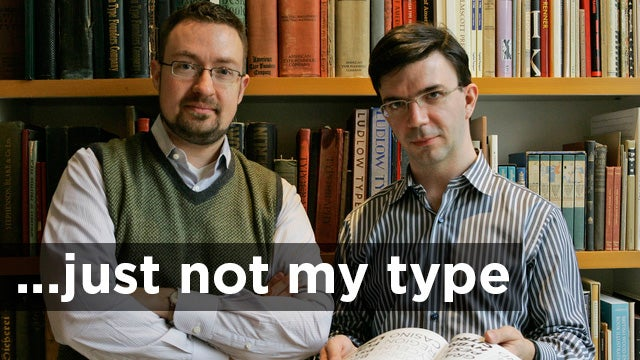 What Hoefler & Frere-Jones' Breakup Means for the Future of Type Design