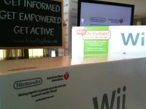 Wii Games Will Sport American Heart Association Seal of Approval