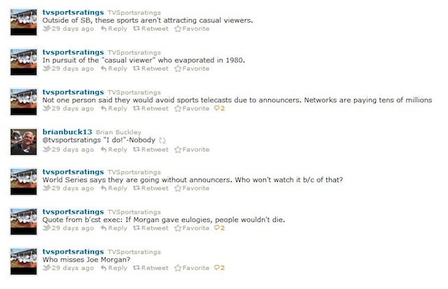 Who Was Behind @TVSportsratings, The Anonymous Twitter Account Hated By Sports TV Executives?