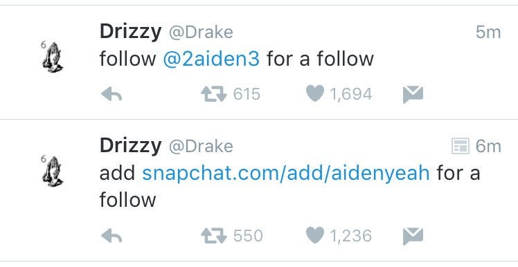 Drake's Twitter Got Hacked Because He Used His Myspace Password