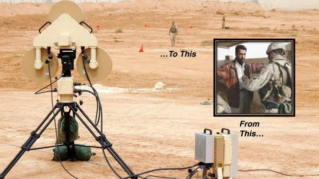 Army Uses Radar to Spot Suicide Bombers From 100 Yards