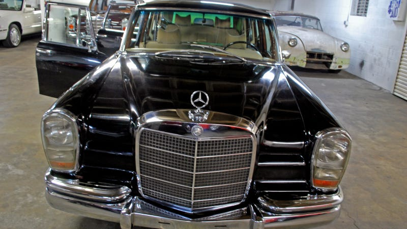 Saddam Hussein's Mercedes-Benz 600 Landaulet Is Amazing And Spooky