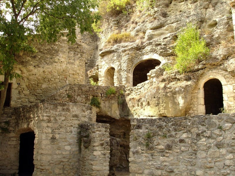 An underground city in France where people have lived for thousands of years