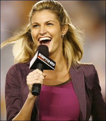Erin Andrews Is No Longer Cherished By Some Midwestern Sports Radio Hosts