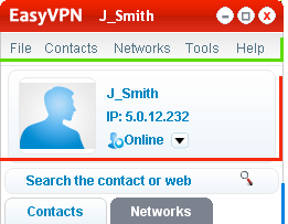 Comodo EasyVPN Creates a Virtual Private Network in a Few Clicks