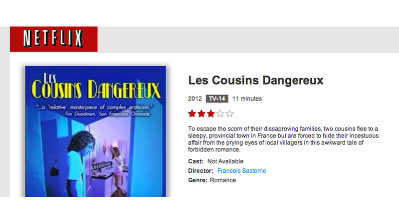 Netflix (Sort of) Releases Les Cousins Dangereux, Girls with Low Self Esteem, and Other Arrested Development Favorites