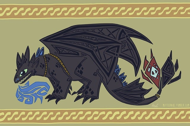 Here's How How to Train Your Dragon Would Be Immortalized in Tapestry