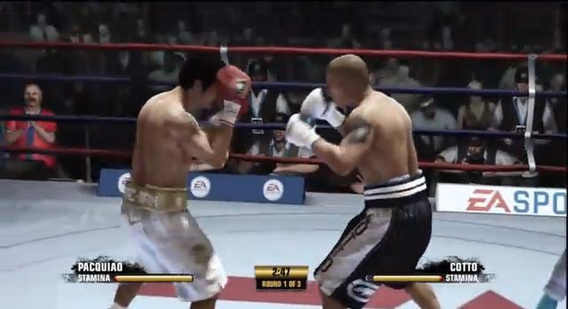 Fight Night Barely Breaks A Sweat In Multiplayer Demo