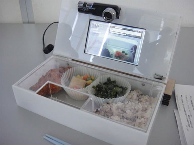 The Ultimate Guilt-Tripping Lunch Box Plays Video of Your Mom Making Your Food