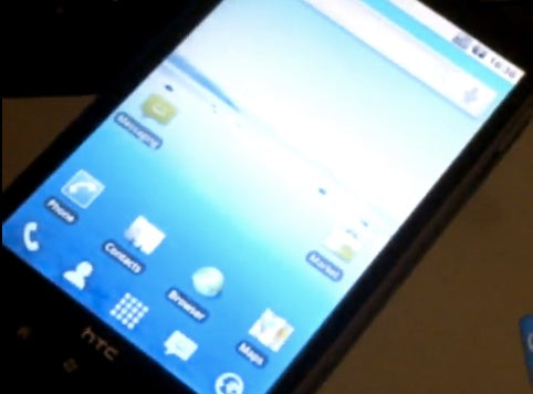 HTC HD2 Shown Running Android, Looking Like an EVO Doppelganger