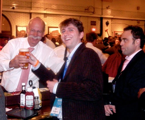 Detroit Auto Show: Dr. Z Pours Us A Pint Of Bass, We Warm Up To Ze Germans