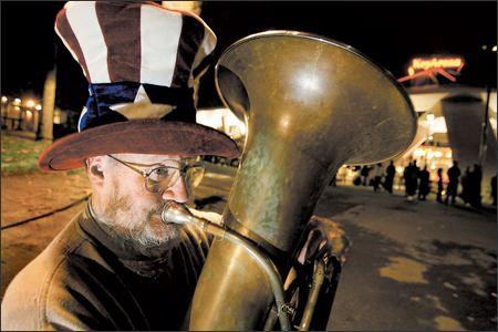 Saying Farewell To The Tuba Man