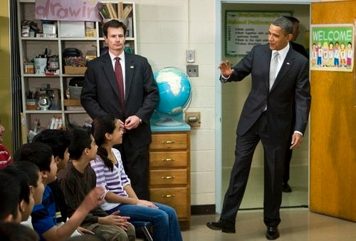 Obama Indoctrinates Your Children With Hilarious Zombie Impression