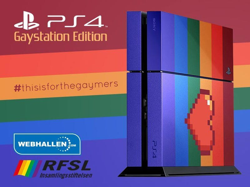 'GayStation' Is Now A Real Thing