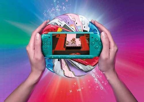 PSP-3000 Goes Blossom Pink, Turquoise Green