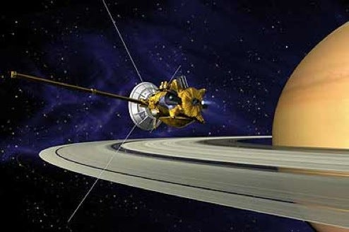 Cassini Probe To Be Used to Look For Life on Saturn Moon
