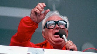 Harry Caray Used To Just Make Shit Up While Calling Away Games