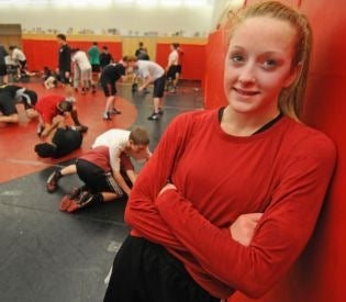 One Of Massachusetts's Best High School Wrestlers Is A Girl