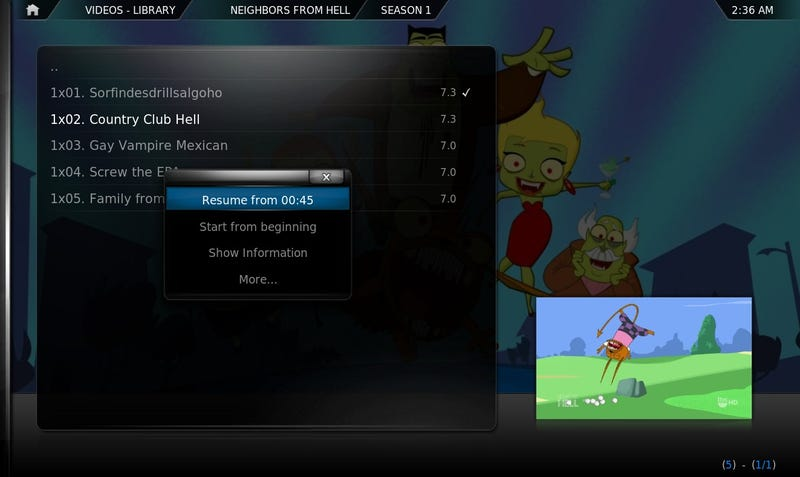 How to Synchronize Your XBMC Media Center Between Every Room in the House