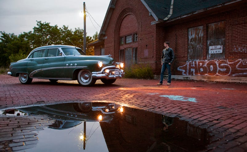 Self-Portrait with '52 Buick Super
