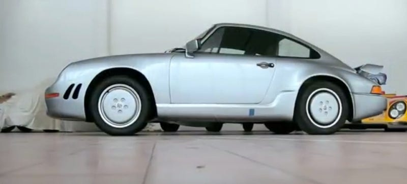 This Porsche 911 Aerodynamic Concept Was The Shape Of 911s To Come