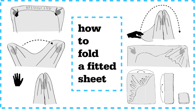 How to Fold a Fitted Sheet Painlessly - Davis Apartments - Tandem ...