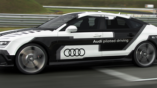 This Audi RS7 Just Drove Itself Around A Track At 150MPH