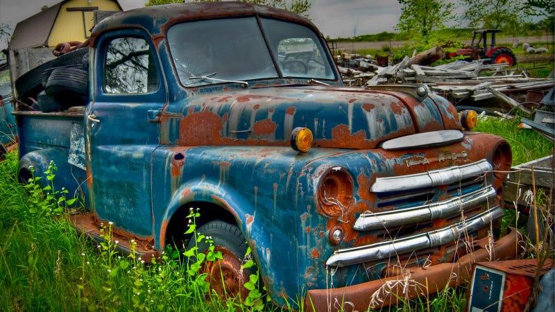 Fargo Pickup Rusting In Peace