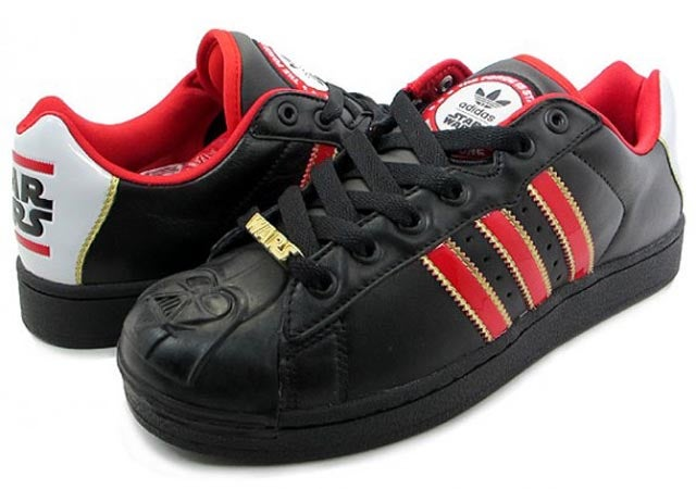 Of course you want Darth Vader's head molded onto the front of your Adidas